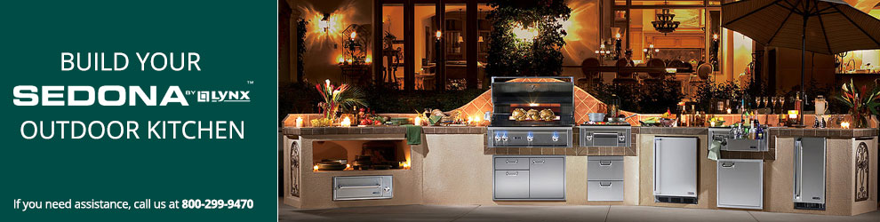 Build Your Lynx Sedona Outdoor Kitchen