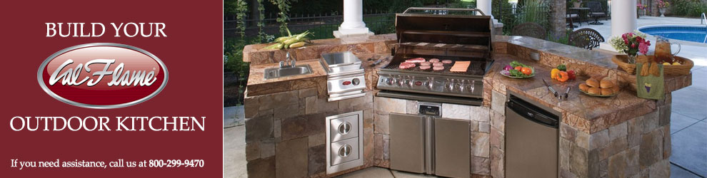 Build Your Cal Flame Outdoor Kitchen