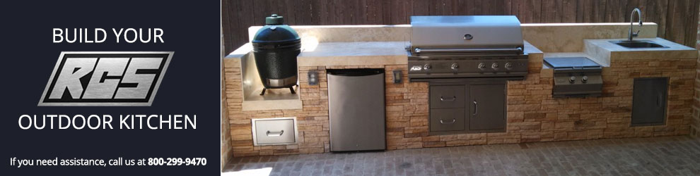 Build Your RCS Outdoor Kitchen