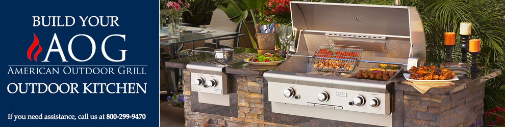 Build Your American Outdoor Grill Outdoor Kitchen