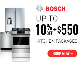 Bosch - Save 10% + Up to $550 on Bosch Appliances