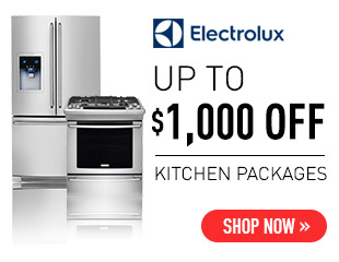 Electrolux $1,000 Select Electrolux Kitchen Appliances