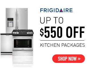Frigidaire Save Up to $550 Select Frigidaire Appliances