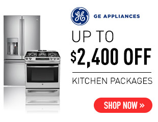GE Appliances Up to $2,400 Select GE Appliances Kitchen Packages