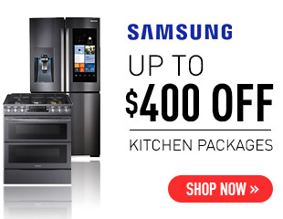 Samsung - Up to $400 on Select Samsung Appliance Packages