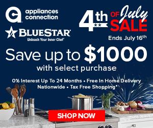 20% back to school appliance sale