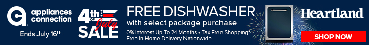 Free Shipping at Appliances Connection