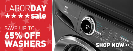 Labor Day Sale - Save Up to 65% Off Select Washers