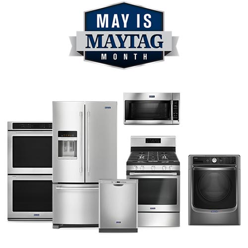 May is Maytag Month Save Up to $1,100