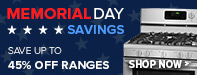 Memorial Day Sale - Save Up to 65% Off Select Cooking Appliances