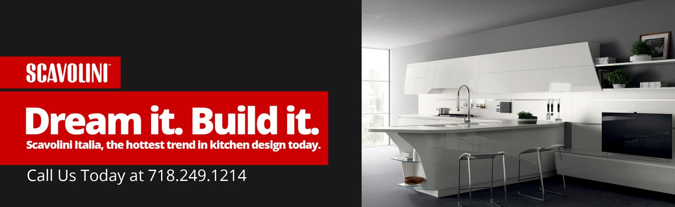 Appliances Connection + Scavolini. Dream It. Build It.
