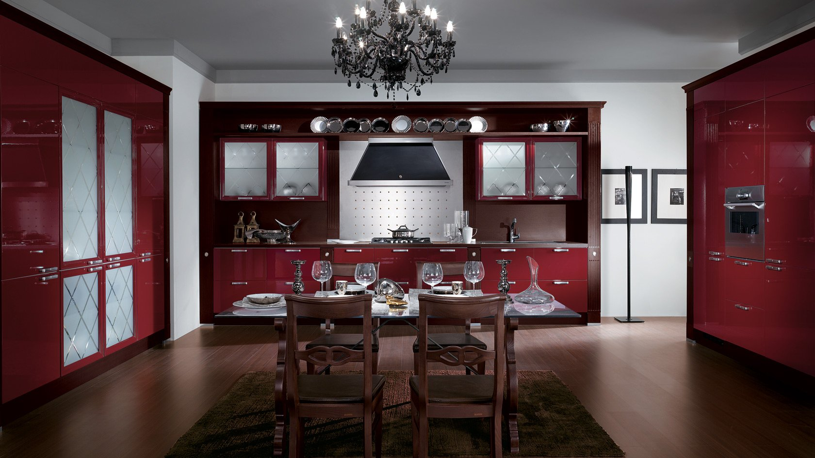 scavolini kitchen cabinets with Cucina Salone Open Space Classico on Yourkitchen further Motus also About in addition Las 50 Cocinas Blancas Modernas Mas Bonitas in addition Black Kitchen.