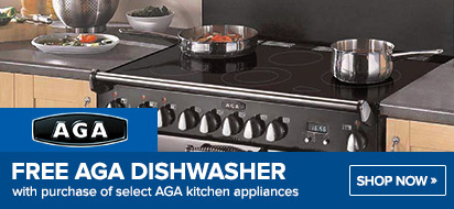 AGA Free Professional Dishwasher Promotion