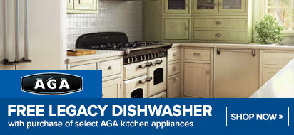 AGA Free Legacy Dishwasher Promotion