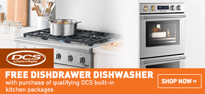 Free DCS DishDrawer(s) with Built-In Package