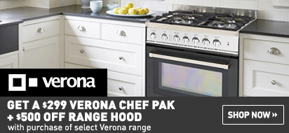 Instant Savings on Verona Chefs Pak and Range Hood