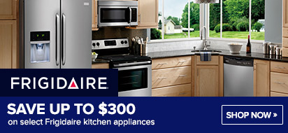 Bundle and save up to $350 on Frigidaire Appliance Packages