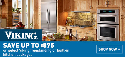 Bundle and save up to $875 on Viking Appliance Packages