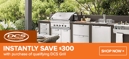 DCS up to $300 Instant Savings on Grill