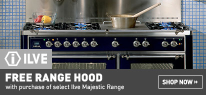 Free Range Hood with ILVE Majestic Range purchase