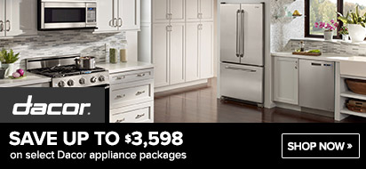 Bundle Dacor Kitchen Appliances and get up to $3598 OFF