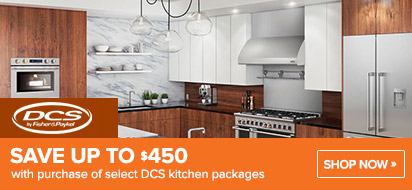 Up To $200 Savings on DCS Appliances