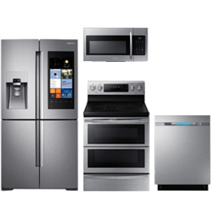Samsung Stainless Steel Innovative Kitchen Appliance Package