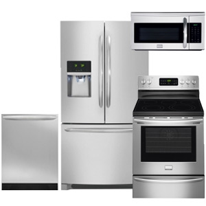 Frigidaire Gallery Stainless Steel Kitchen Appliance Package