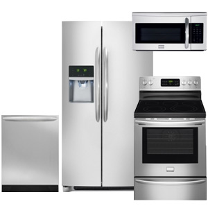 Frigidaire Gallery Smudge-Proof Kitchen Appliance Package