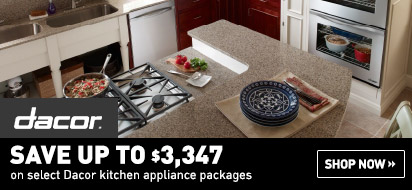 Save up to $3347 on Dacor Appliances