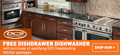 Free DCS DishDrawer(s) with Range Package