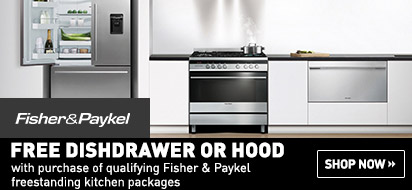 Free Item with Fisher Paykel Freestanding Kitchen Package