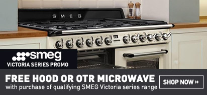 Purchase a Smeg Victoria Range and Get a Free Range Hood or OTR