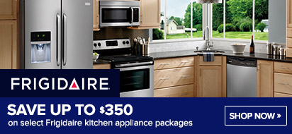 Save up to $350 on Frigidaire Kitchen Appliances