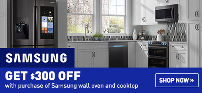 Samsung Built-In Kitchen Appliance Savings Promotion