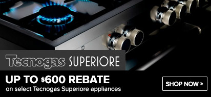 Tecnogas Superiore 600 Range and Hood Promotion