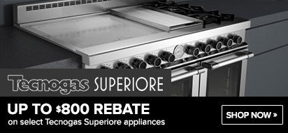 Tecnogas Superiore 800 Range and Hood Promotion