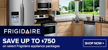 Bundle and save up to $750 on Frigidaire Appliance Packages