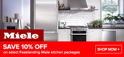 Bundle and save 10% on Miele Appliance Package