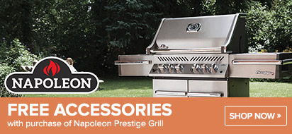 Napoleon Prestige Grill with free Accessories