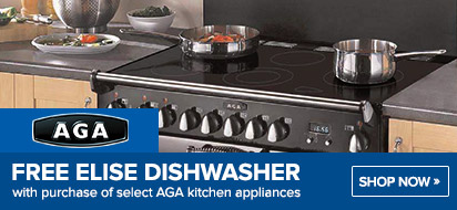 AGA Free Elise Dishwasher Promotion