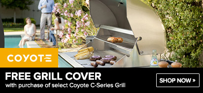Coyote C-Series Grill Free Cover Promotion