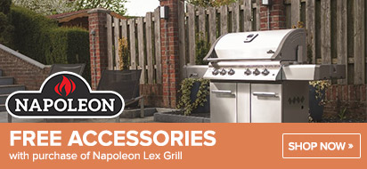 Napoleon Lex Grill with free Accessories