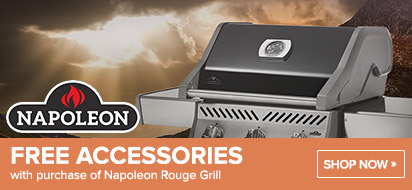 Napoleon Rouge Grill with free Accessories