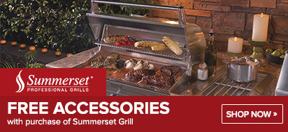 Get FREE Accessories with Grill Purchase