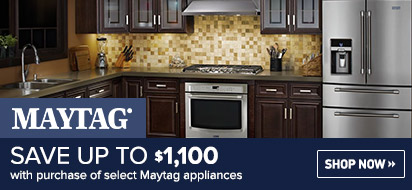 Bundle and save up to $1100 on Kitchen Appliance Plus Laundry