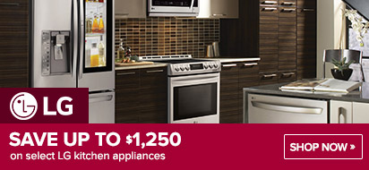Bundle LG Kitchen Appliance and get up to $1250 OFF